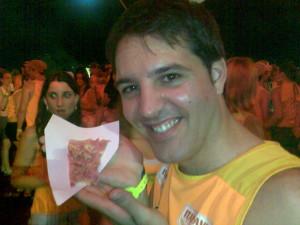 Pizza Gratissss. ñam ñam